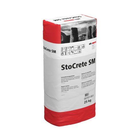 StoCrete SM gyorskötésű javítóahabarcs, 25 kg
