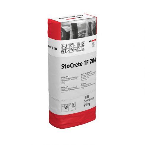 StoCrete TF 204 finom javítóhabarcs, 25 kg