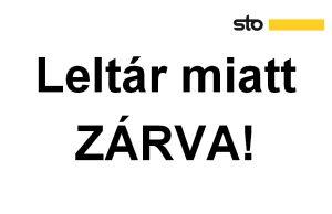 Figyelem! 2020. június 18-19-én leltár miatt ZÁRVA tartunk!