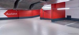 Innovatív megoldás parkolóházakban, vízzáró betonból készült alaplemezekre: StoPox 590 EP